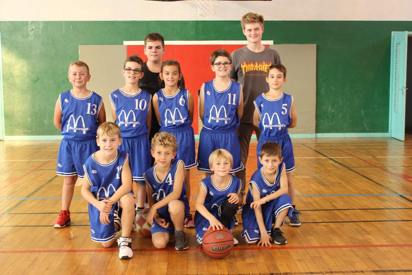 Poussins U11 - JLA Basket